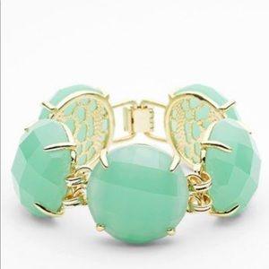 Kendra Scott Cassie Mint Stone Bracelet